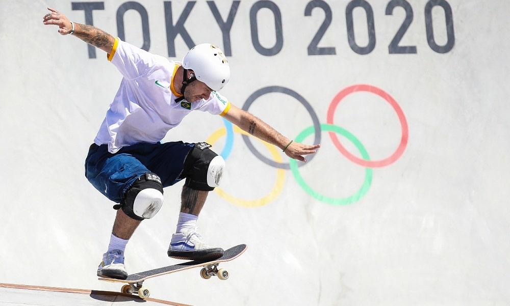 Pedro Barros skate park jogos olímpicos de tóquio