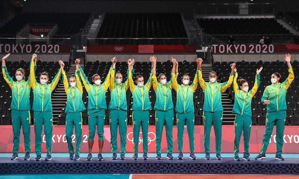 camila brait seleção vôlei jogos olímpicos de tóquio