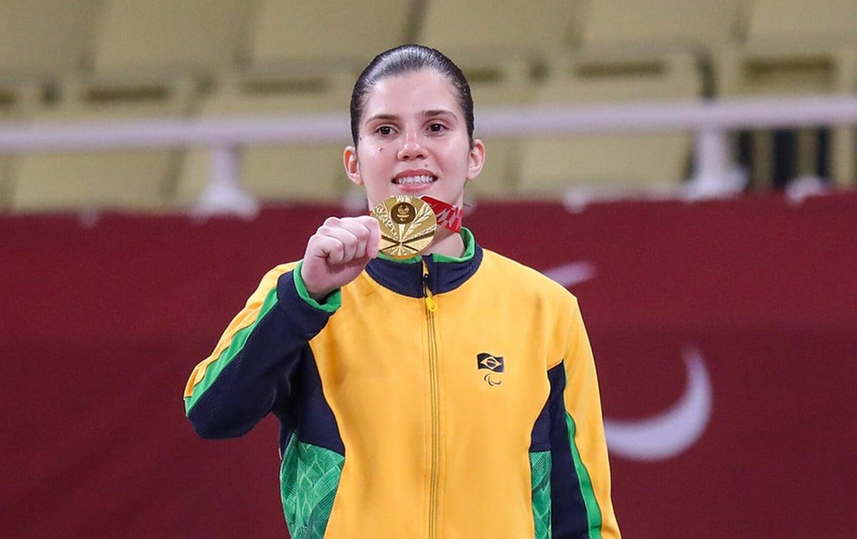Alana Maldonado ouro Jogos Paralímpicos judô paralímpico Tóquio
