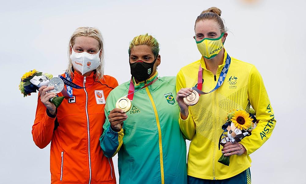 ana marcela cunha ouro olimpíada Jogos Olímpicos Tóquio