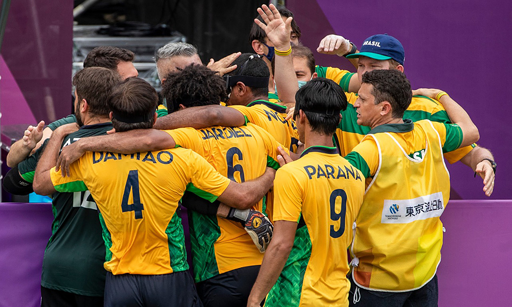 Brasil França seleção brasileira Futebol de 5 Jogos Paralímpicos Tóquio 2020