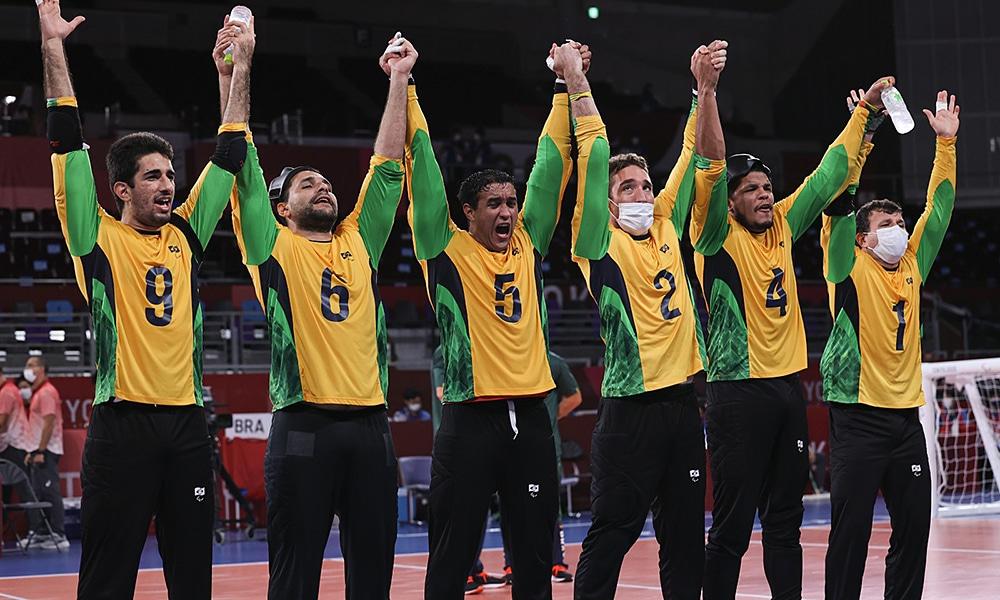 Brasil Turquia goalball masculino jogos paralímpicos tóquio