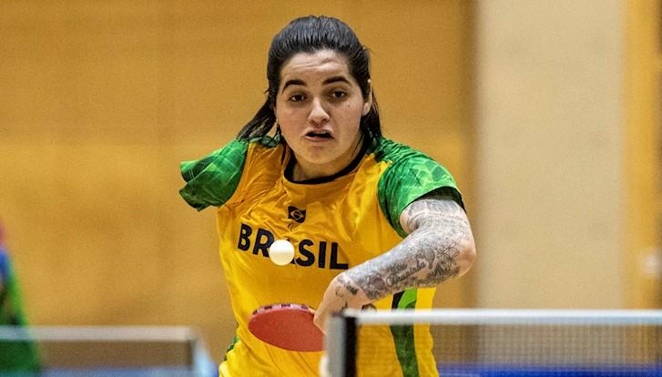 Bruna Alexandre tênis de mesa jogos paralímpicos tóquio