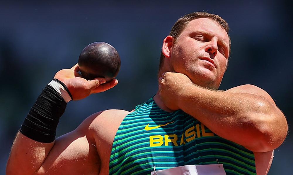 Darlan Romani Jogos Olímpicos arremesso do peso atletismo