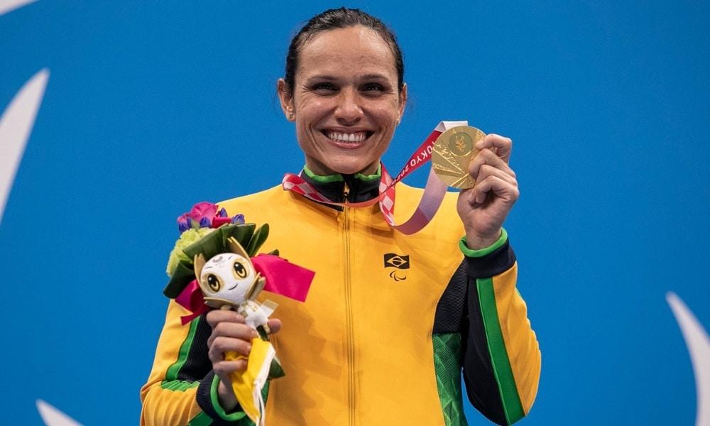 Maria Carol Santiago - natação paralímpica - Tóquio 2020