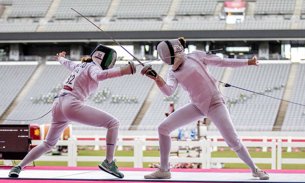 Maria Ieda Guimarães Pentatlo Moderno Jogos Olímpicos esgrima