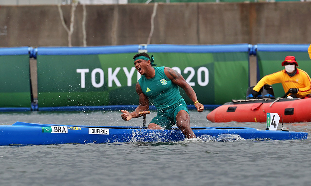 Izekias Keyrouz C1 1000 Gold Rowing Olympic Games Tokyo