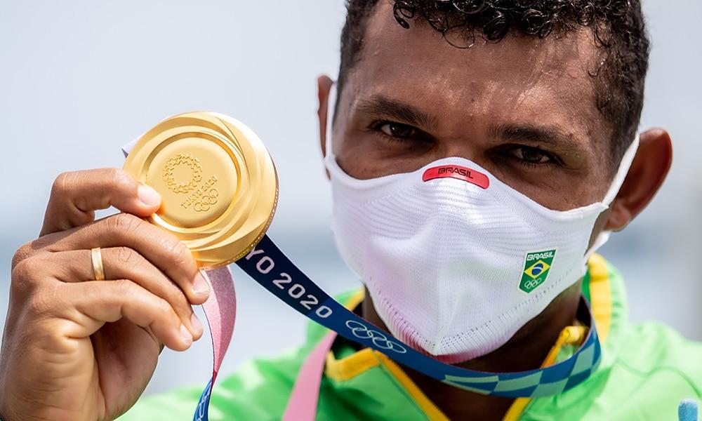 Isaquias Queiroz canoagem velocidade C1 1000 Jogos Olímpicos de Tóquio