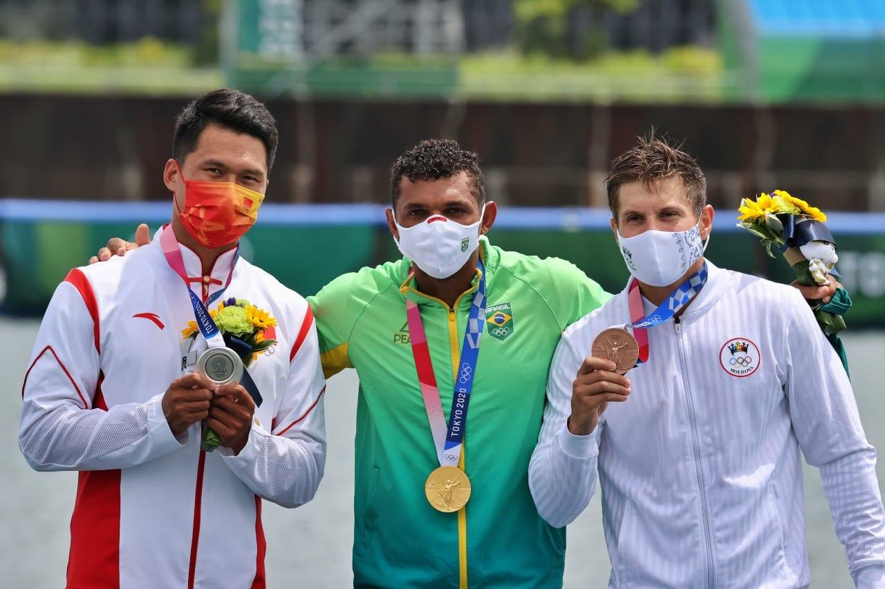 Izekias Queiroz C1 1000 Speed Rowing Tokyo Olympic Games