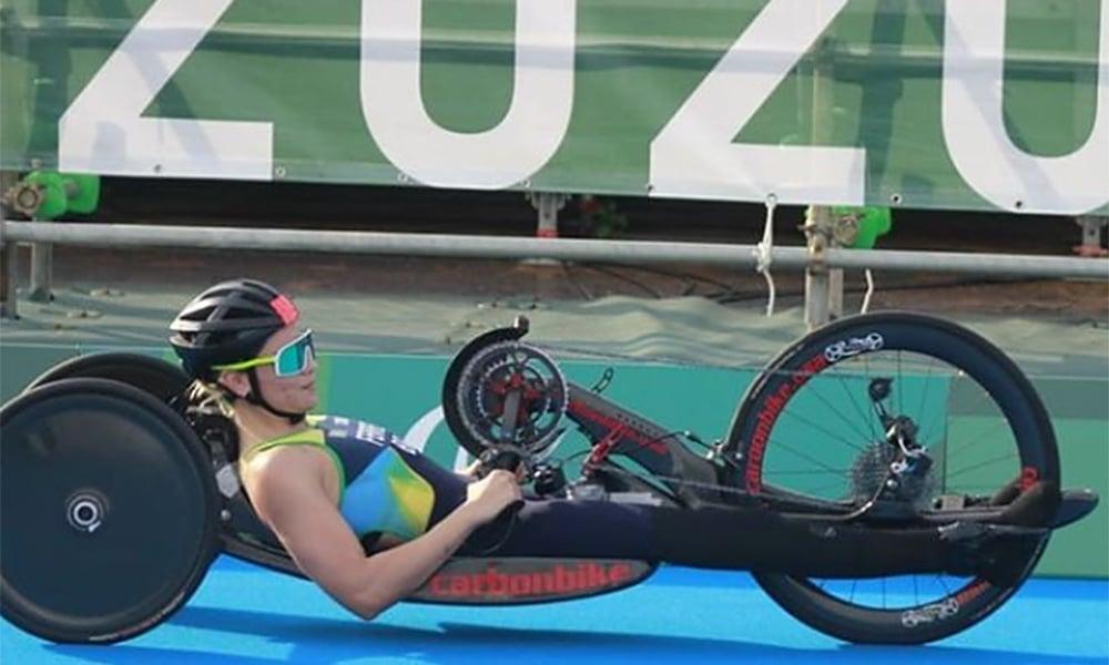 Jessica Messali triatlo jogos paralímpicos tóquio 2020