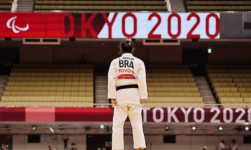 Lúcia Araújo judô bronze jogos paralímpicos tóquio 2020
