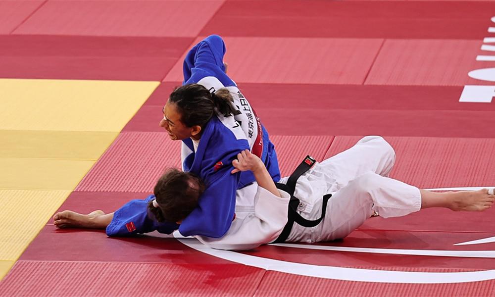 Lúcia Araújo judô jogos paralímpicos tóquio 2020