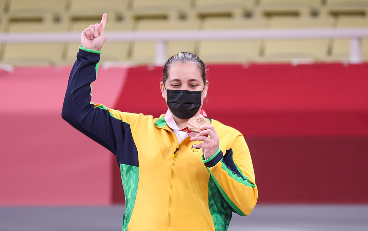 Meg Emmerich ouro Jogos Paralímpicos judô paralímpico Tóquio