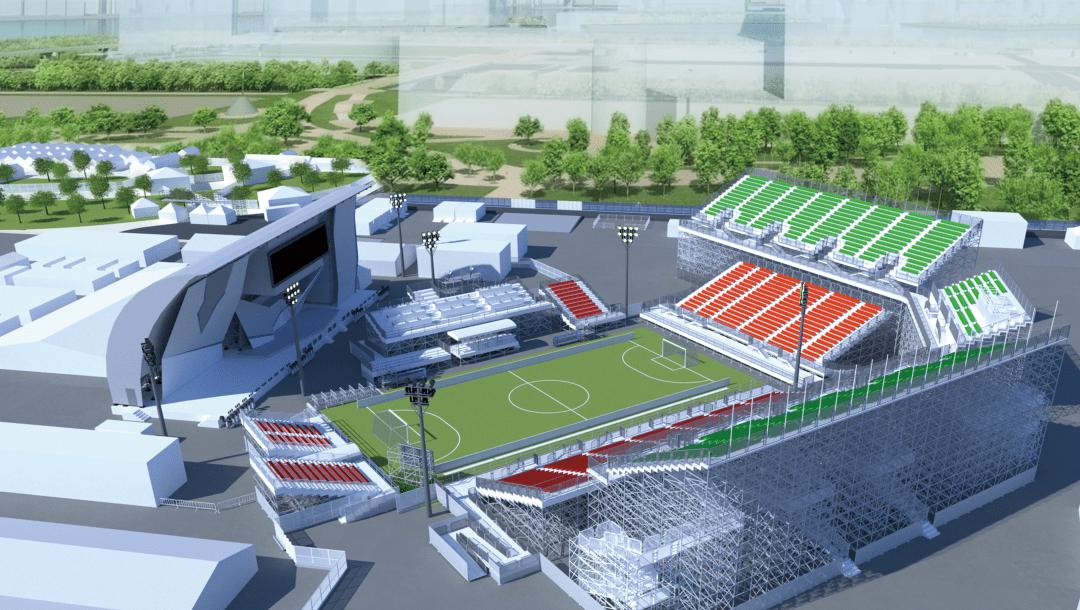 Aomi Urban Sports é a sede do futebol de 5 nos Jogos Paralímpicos de tóquio-2020