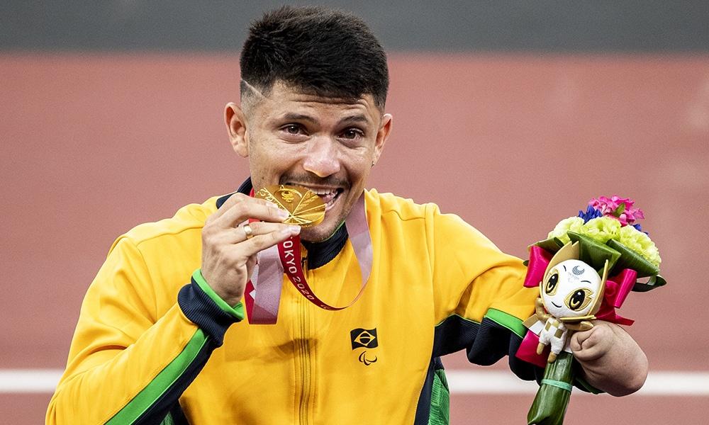 Petrúcio Ferreira medalha de ouro jogos paralímpicos Tóquio 2020