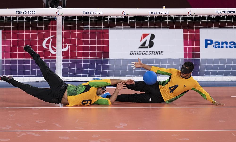 Goalball Tóquio 2020 Brasil JapãoJogos Paralímpicos ao vivo