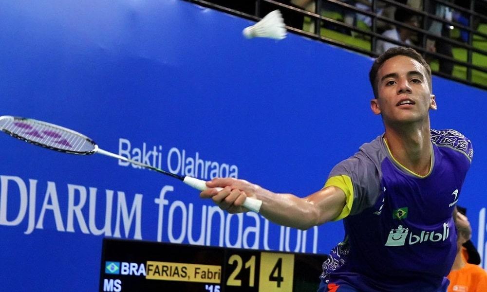 Fabricio Farias badminton