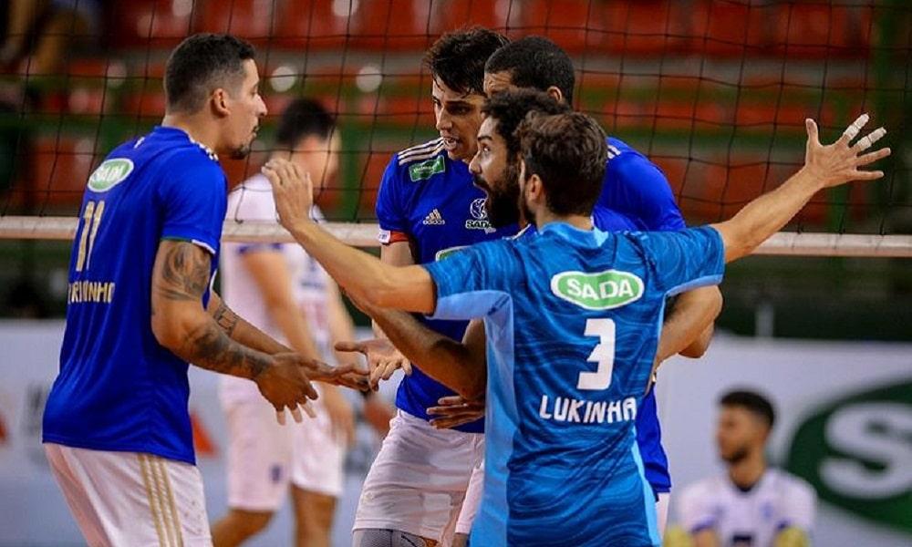 Minas x Cruzeiro - Mineiro masculino de vôlei