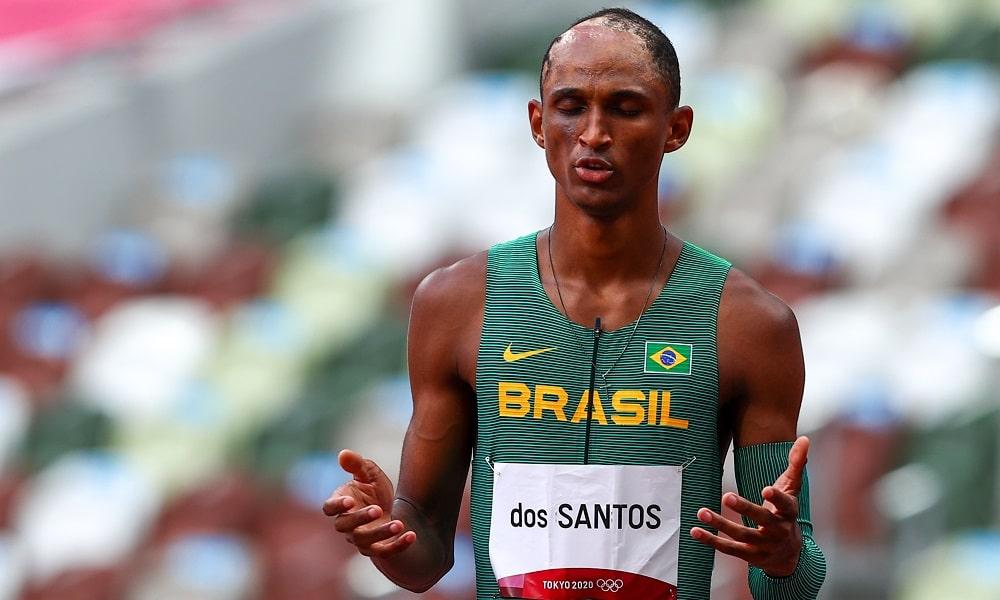 Alison dos Santos atletismo 400 m com barreiras