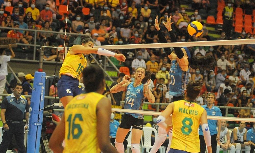 Brasil Sul-americano  vôlei