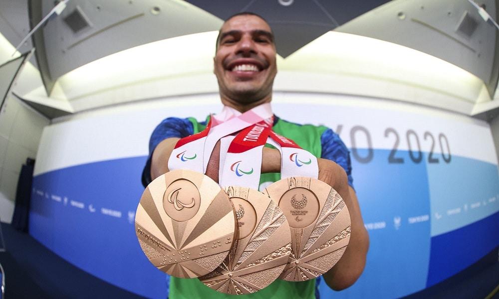 Daniel Dias será o porta-bandeira do Brasil no encerramento dos Jogos de Tóquio Paralimpíada