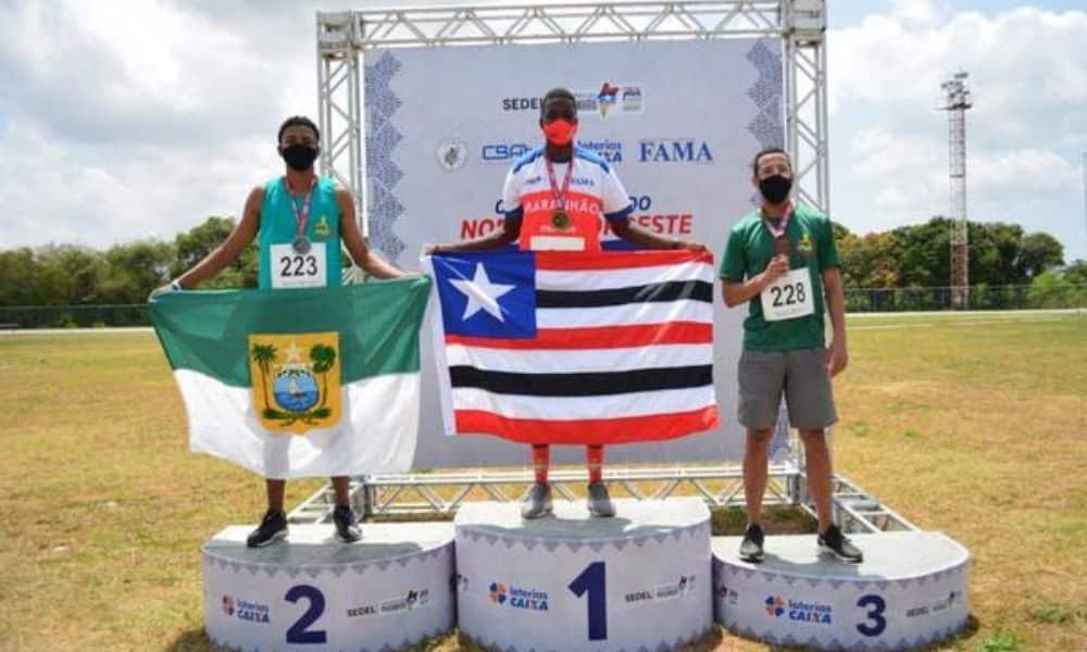 Alexsandro de Melo Troféu Norte Nordeste de atletismo