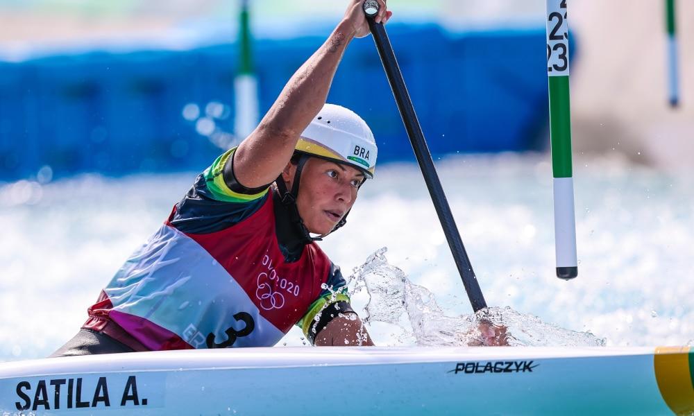 Ana Sátila Pepê Gonçalves Mathieu Desnos Mundial de canoagem slalom Mundial de Canoagem Extreme