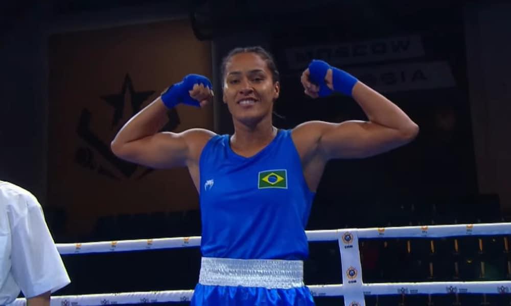 Bárbara Santos, Luiz Fernando da Silva e Joel Ramos avançam no Mundial Militar de Boxe