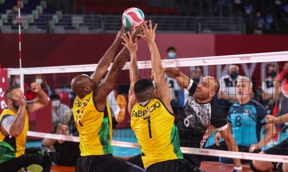 Brasil x Bósnia vôlei sentado Jogos Paralímpicos de tóquio 2020