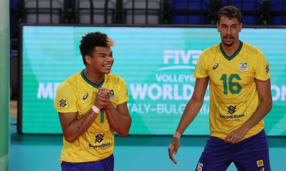 Brasil x Canadá Mundial Sub-21 de vôlei masculino