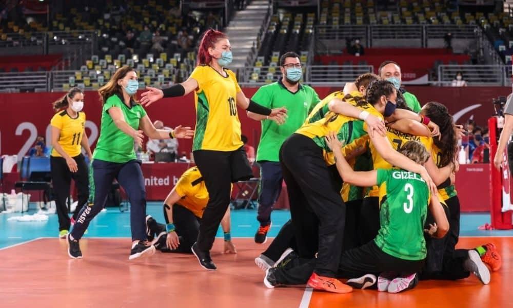 Brasil x Canadá disputa do bronze Jogos Paralímpicos Tóquio-2020