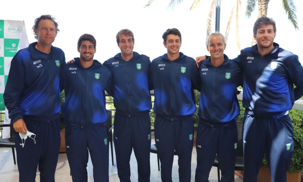 Orlando Luz faz a estreia do Brasil contra o Líbano na Copa Davis