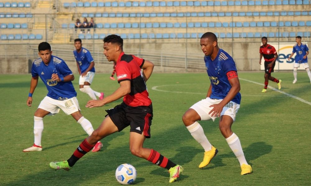 Cruzeiro e Flamengo Copa do Brasil Sub-17