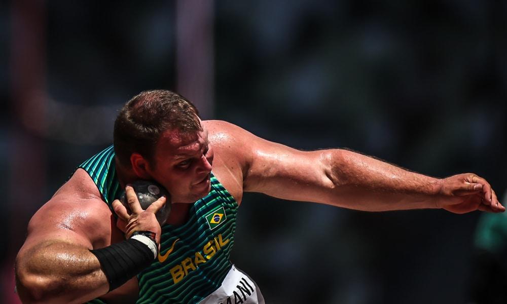 Darlan Romani fica em sexto em Meeting de atletismo