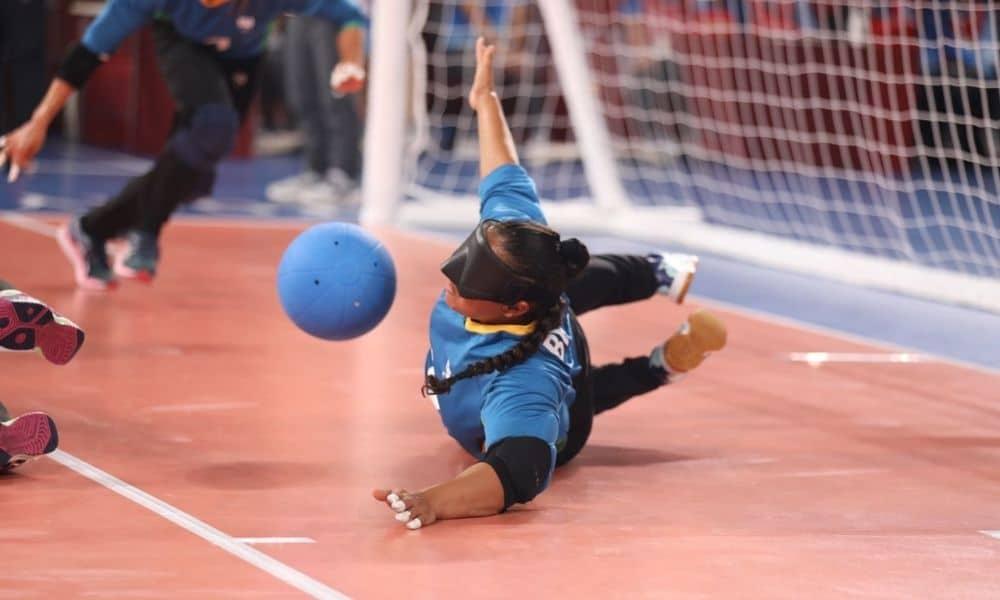 goalball feminino jogos paralímpicos de tóquio