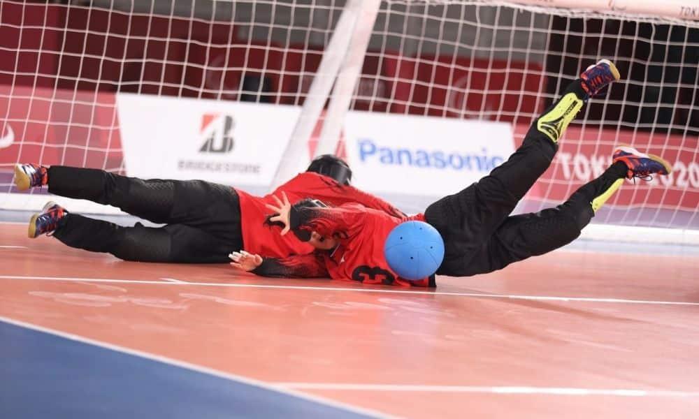 china goalball feminino jogos paralímpicos de tóquio