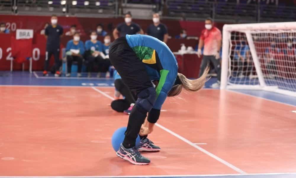 Ana Carolina goalball feminino jogos paralímpicos de tóquio