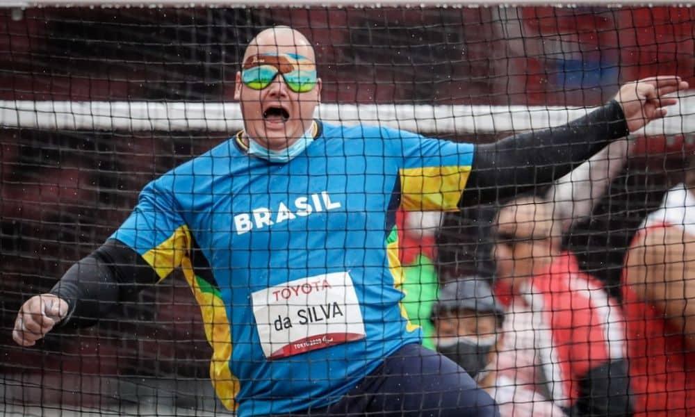 Alessandro Rodrigo lançamento de disco atletismo jogos paralímpicos de tóquio 2020