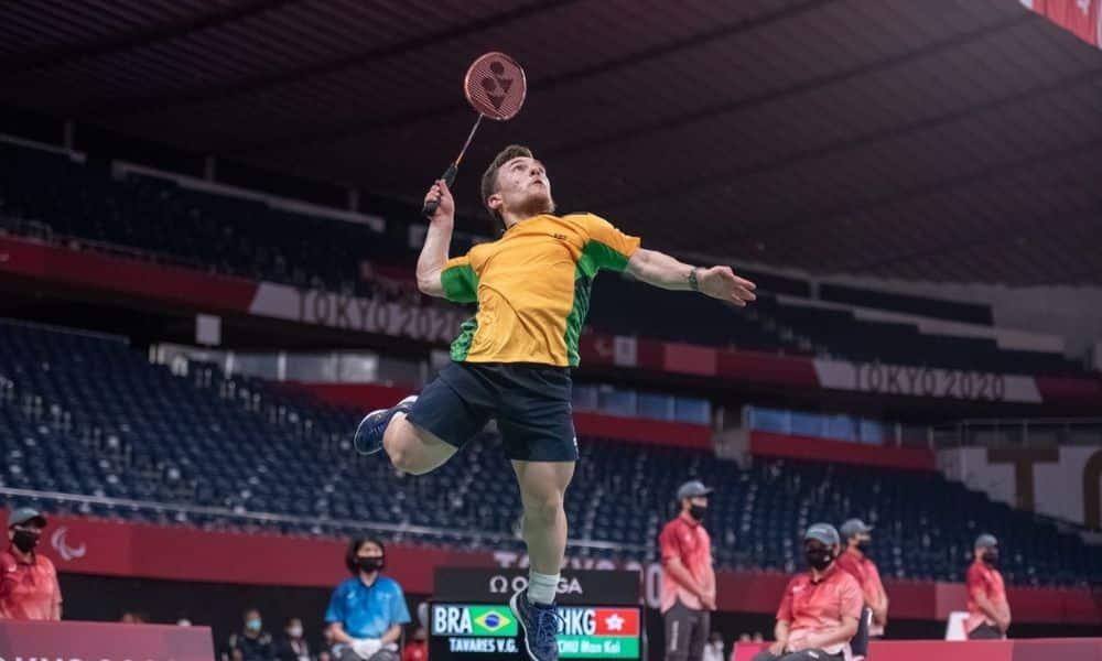 vitor tavares badminton jogos paralímpicos de tóquio