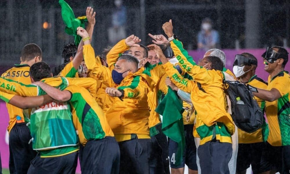 futebol de 5 jogos paralímpicos de tóquio 2020 argentina