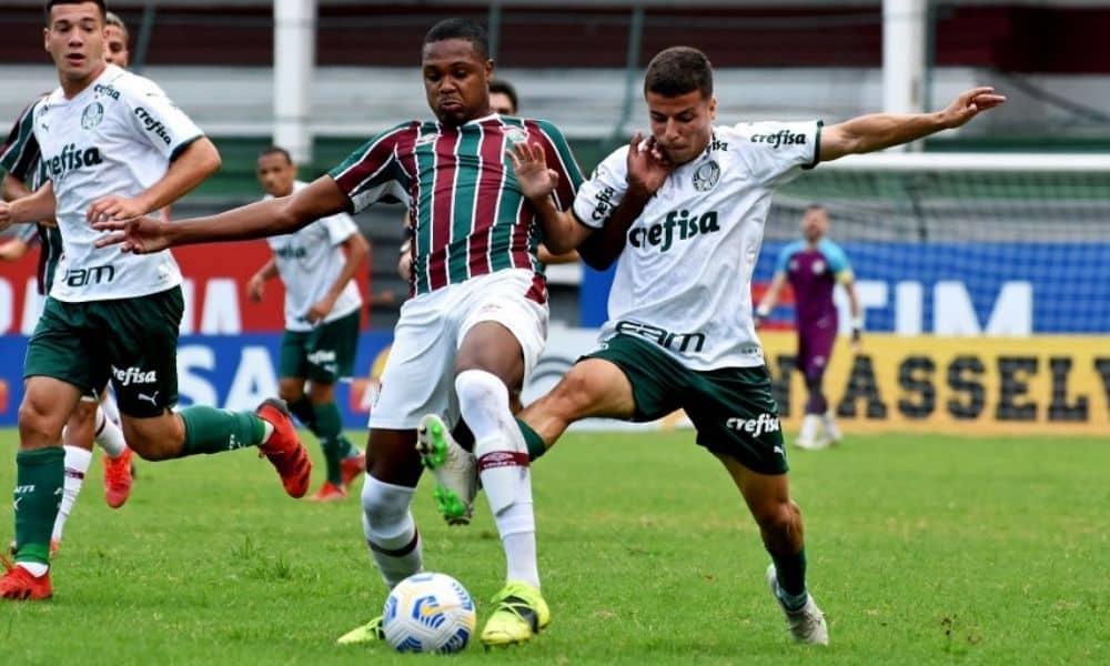 Fluminense x Palmeiras - Brasileiro Sub-20