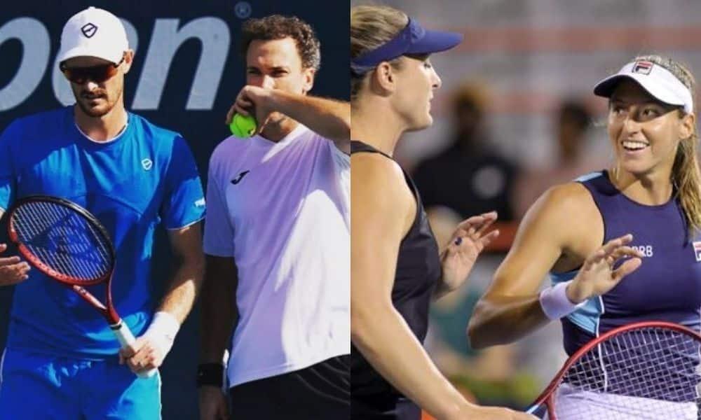 Bruno Soares e Luisa Stefani estão nas quartas do US Open