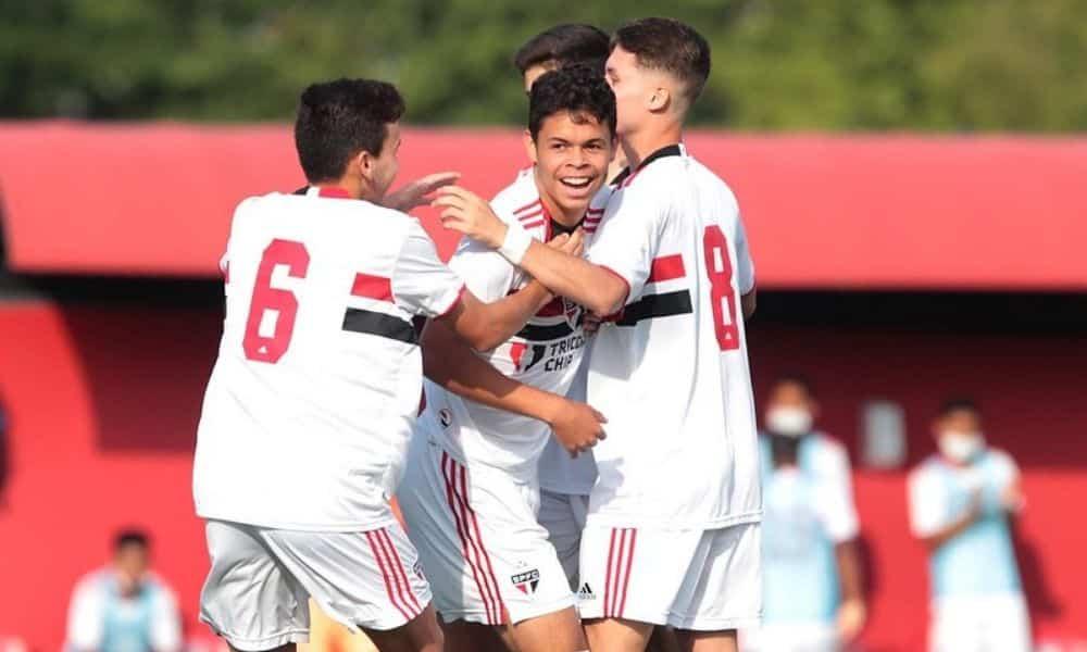 São Paulo, Atlético-MG e Porto Vitória-ES avançam para as quartas da Copa do Brasil Sub-17