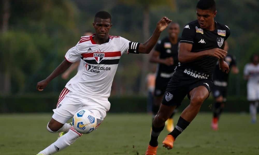 São Paulo x Botafogo - Brasileiro Sub-20 de futebol