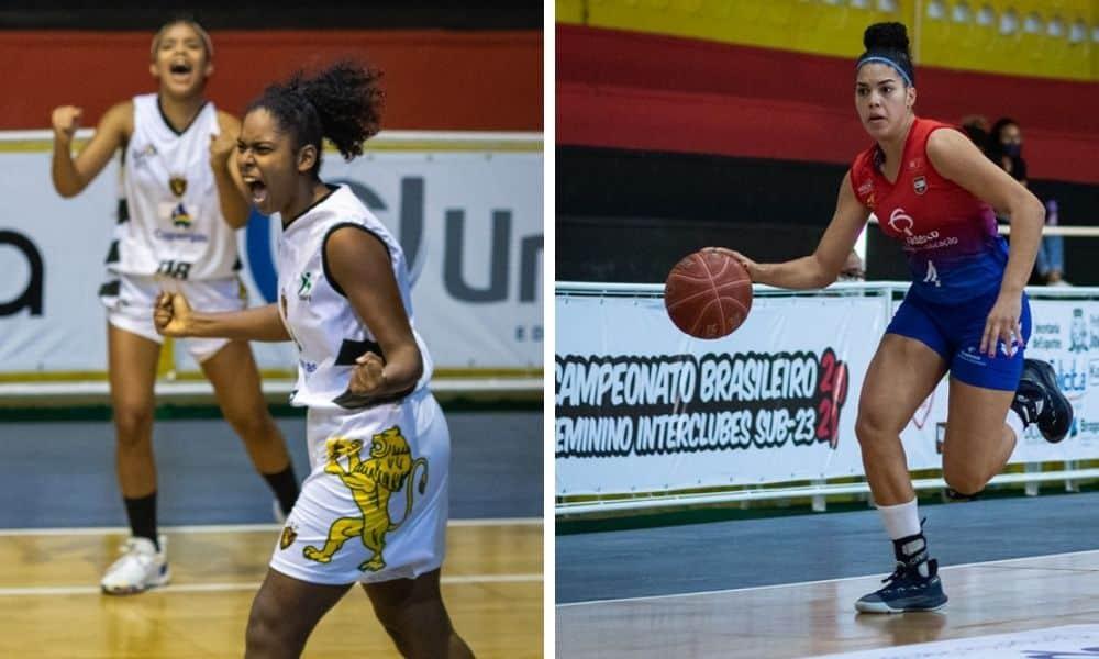 Sport e Bradesco Esportes Brasileiro de basquete feminino
