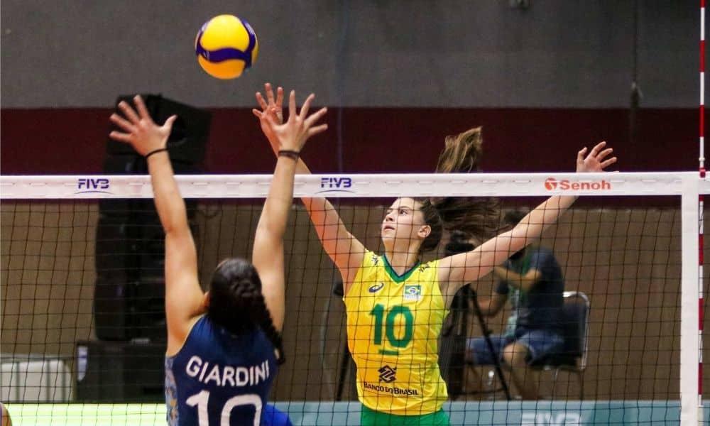 Brasil x Argentina - Mundial Sub-18 de vôlei feminino