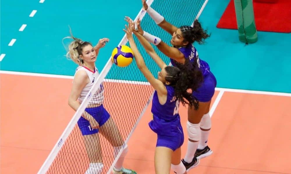 Brasil x Rússia - Mundial Sub-18 feminino de vôlei
