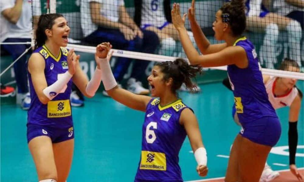 Brasil x Eslováquia - Mundial sub-18 de vôlei feminino
