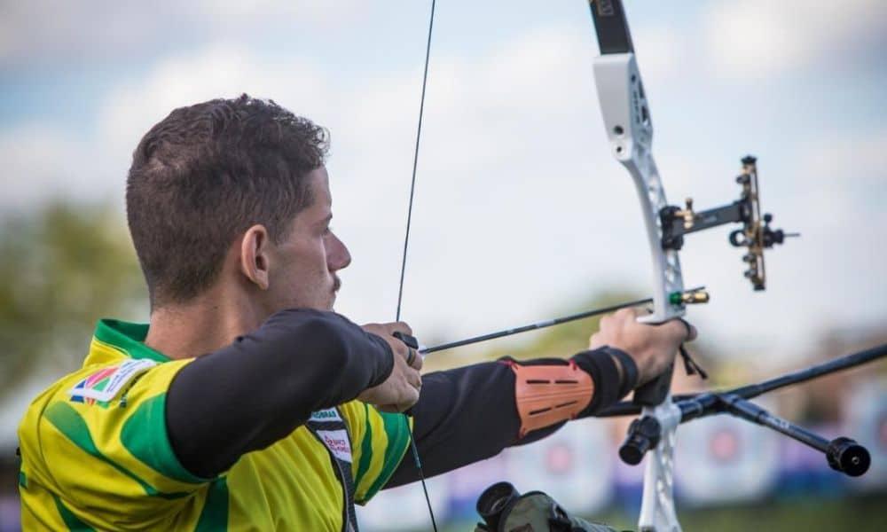 Marcus D'Almeida mundial de tiro com arco qualificação