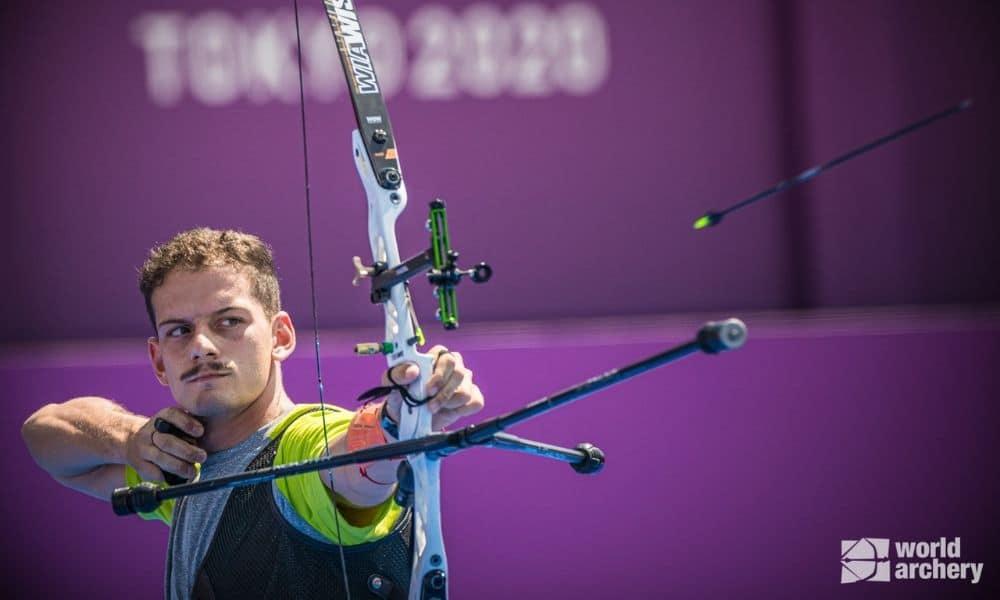 Marcus D'Almeida tiro com arco tóquio 2020 Mundial de tiro com arco